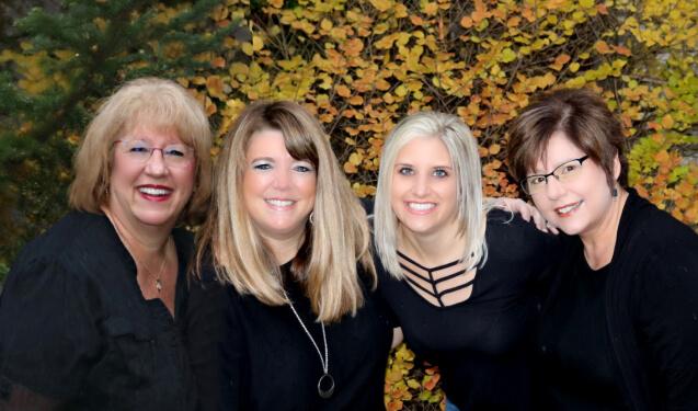 Our desk staff at river birch dental