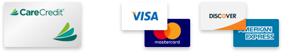Payments accepted at River Birch Dental, CareCredit, Visa, Mastercard, Discover, American Express